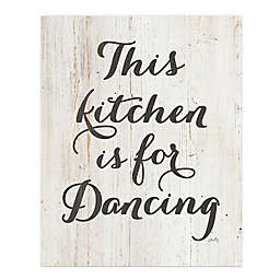 Courtside Market® This Kitchen is For Dancing 30-Inch x 40-Inch Canvas Wall Art