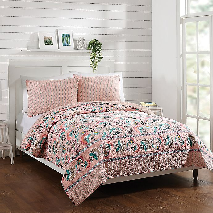 Alternate image 1 for Vera Bradley® Blush Flowers Bedding Collection