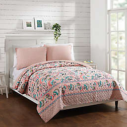 Vera Bradley® Blush Flowers Reversible Quilt