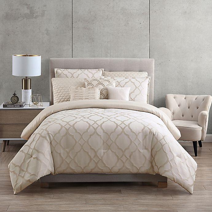 Hotel Tiago Jacquard 9 Piece Comforter Set | Bed Bath & Beyond