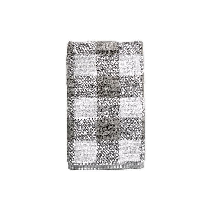 Alternate image 1 for Bee & Willow™ Home Gingham Dobby Hand Towel