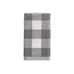 Bee & Willow™ Home Gingham Dobby Tip Towel in Grey