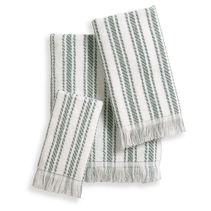 Alternate image 1 for Bee & Willow™ Home Tilden Stripe Towel Collection