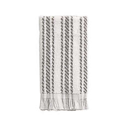 Bee & Willow™ Home Tilden Stripe Tip Towel in Grey