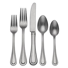 Lenox® Textured Neutrals™ 20-Piece Flatware Set