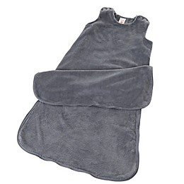 Gunamuna Classic Dreams Gunapod Wearable Fleece Blanket in Charcoal