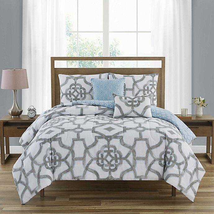 Alternate image 1 for C. Wonder Emerline 5-Piece Comforter Set