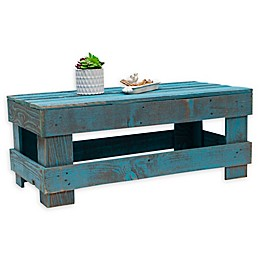 Del Hutson Designs® Fence Wood Coffee Table