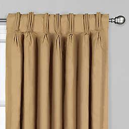 Cottlin Pinch Pleat/Back Tab Window Curtain Panel (Single)