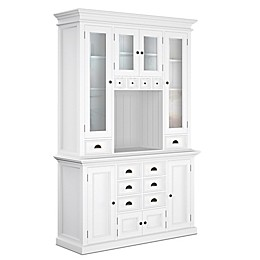 NovaSolo Halifax Kitchen Hutch Unit in White
