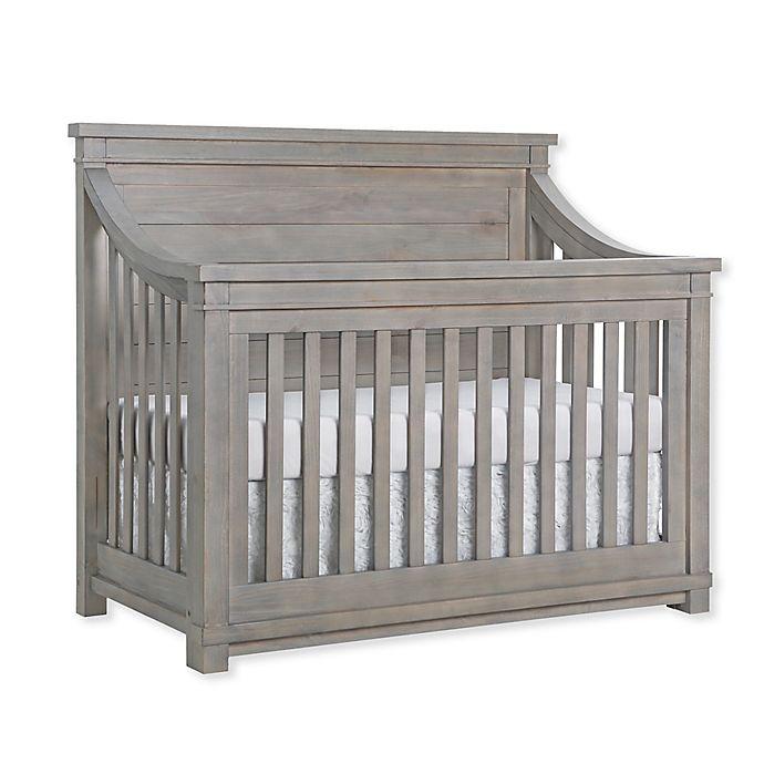 Alternate image 1 for Baby Appleseed® Rowan 4-in-1 Convertible Crib in Rainwash