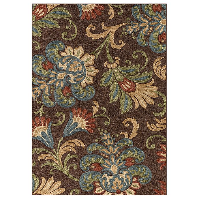Charleston Rug In Chocolate Bed Bath And Beyond Canada