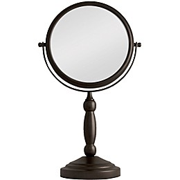 Zadro™ 10X/1X Vanity Swivel Mirror in Oil Rubbed Bronze