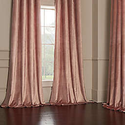 Velvet Window Curtain Panel Collection
