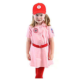 Rockford Peach Baseball Child's Halloween Costume