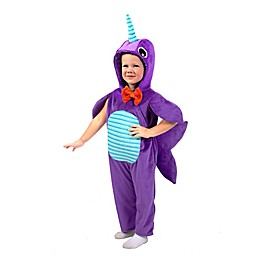Minky Narwhal Child's Halloween Costume