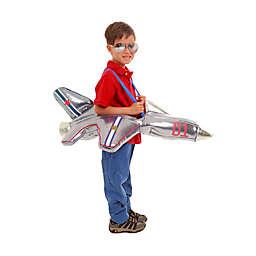 Plush Ride-in Airplane Child's Halloween Costume