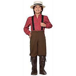 Pioneer Boy Large Child's Halloween Costume