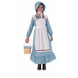 Pioneer Girl Child's Halloween Costume in Blue