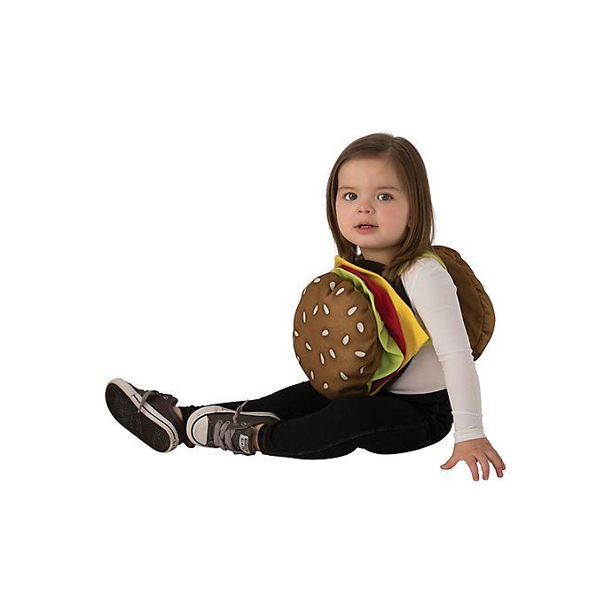 Alternate image 1 for Cheeseburger Toddler Halloween Costume