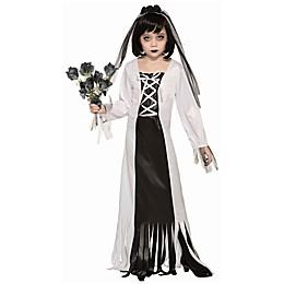 Graveyard Bride Child's Halloween Costume in Black