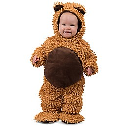Chenille Teddy Bear Child's Halloween Costume in Brown