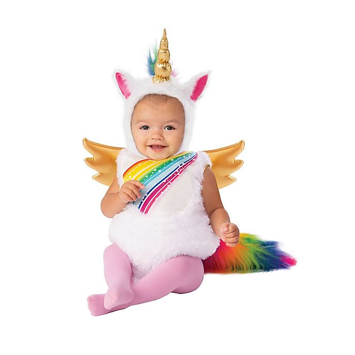 Alternate image 1 for Baby Unicorn Toddler Halloween Costume
