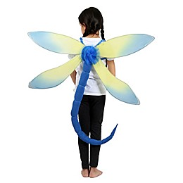 Blue Dragonfly Child's Halloween Costume