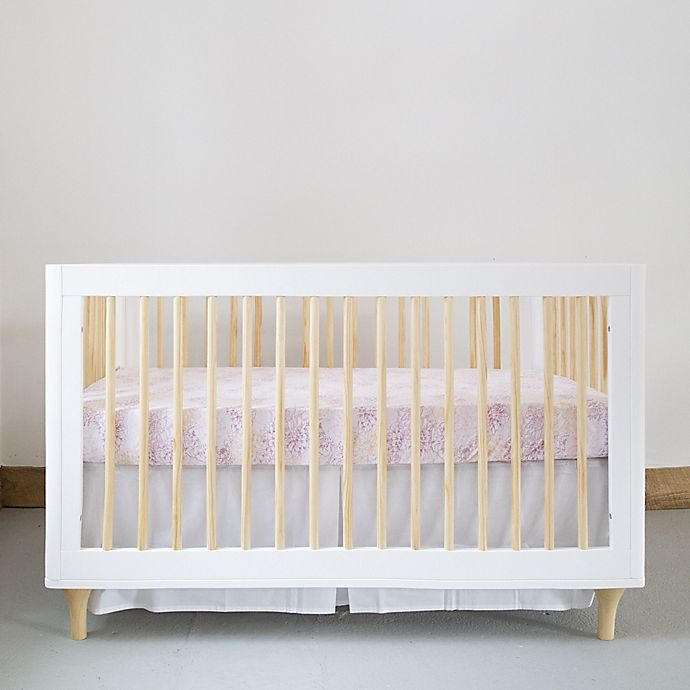 Alternate image 1 for Burt's Bees Baby® Peach Floral Organic Cotton Bedding Collection