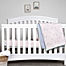 Part of the Burt's Bees Baby® Organic Cotton Jersey Bedding Collection