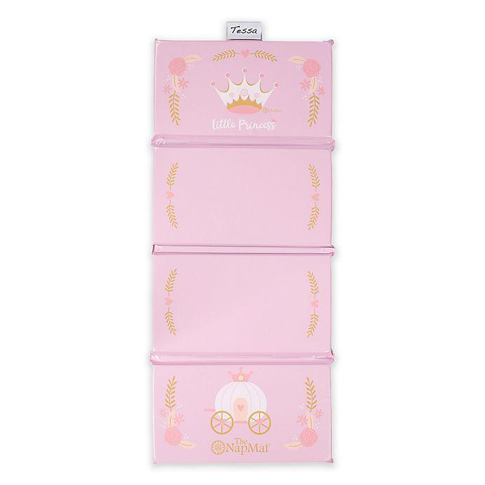 Alternate image 1 for Uber Mom Pink Princess Nap Mat