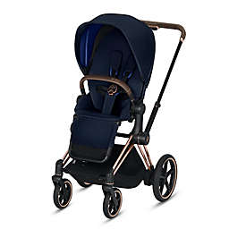 CYBEX Platinum e-Priam Stroller with Rose Gold Frame