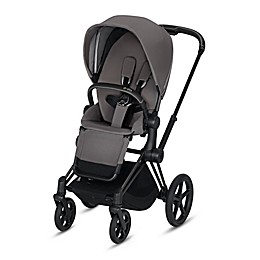 CYBEX Platinum e-Priam Stroller with Matte Black Frame
