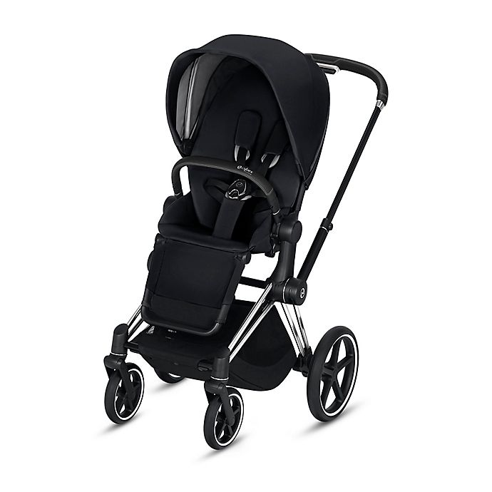 Alternate image 1 for CYBEX e-PRIAM Chrome Stroller