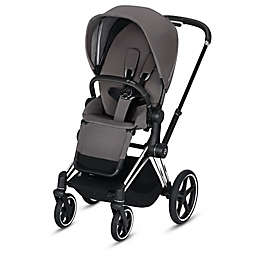 CYBEX e-PRIAM Chrome Stroller in Black/Grey