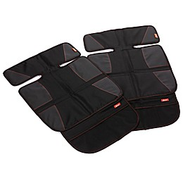Diono® super mat™ Car Seat Protectors in Black (Set of 2)