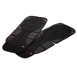 Diono® ultra mat™ Car Seat Protectors in Black (Set of 2)