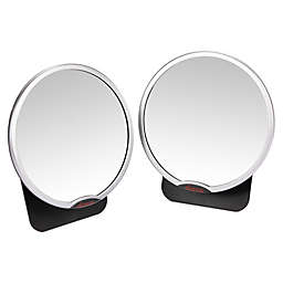 Diono® Easy View™ Two2Go Adjustable Back Seat Mirrors in Black/Silver (Pack of 2)