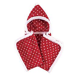 Hudson Baby® Polka Dot Hooded Blanket in Red