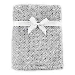 Hudson Baby® Plush Waffle Toddler Blanket in Grey