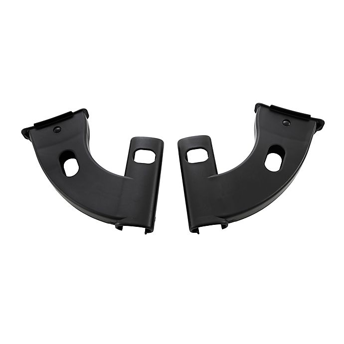 Alternate image 1 for Larktale™ Coast™ Britax Car Seat/Stroller Adaptors in Black (Set of 2)