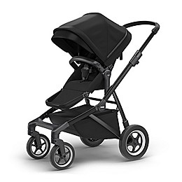 Thule Sleek Convertible Stroller in Black on Black
