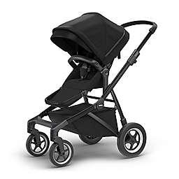 Thule Sleek Convertible Stroller in Black on Black
