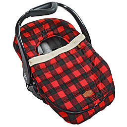 JJ Cole® Car Seat Cover in Buffalo Check
