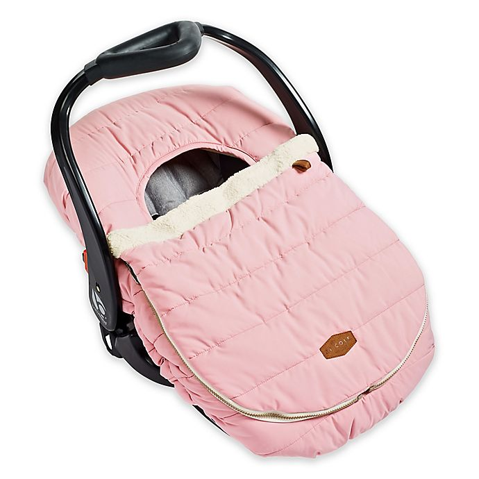 Alternate image 1 for JJ Cole® Car Seat Cover in Blush