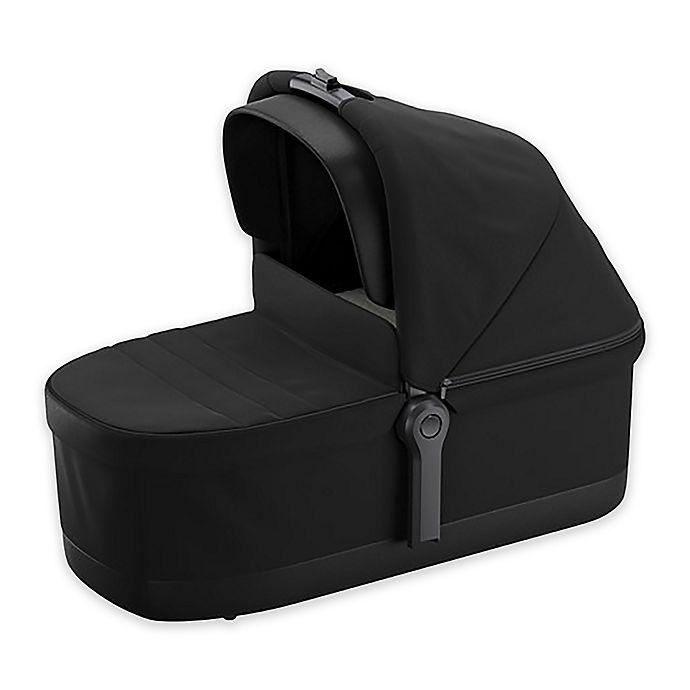 Alternate image 1 for Thule Sleek Stroller Bassinet in Black on Black