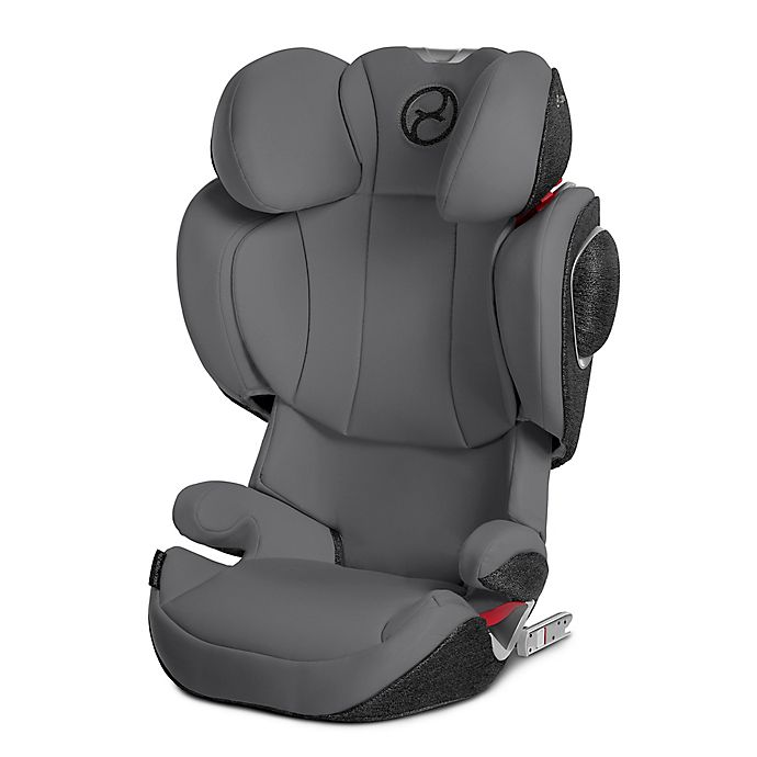 Alternate image 1 for CYBEX™ Solution Z-Fix Highback Booster Car Seat in Manhattan Grey