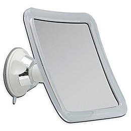 Square 10X Suction Mirror