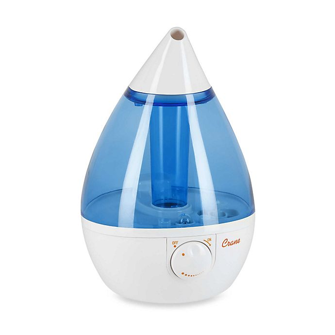 Alternate image 1 for Crane Ultrasonic Cool Mist Drop Shape Humidifier