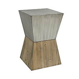 O&O by Olivia & Oliver™ Metal and Wood Accent Table in Natural